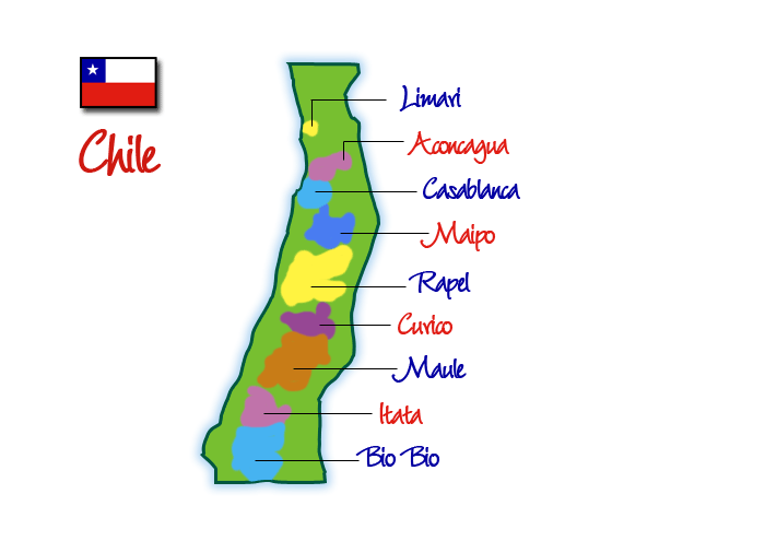 Wine Regions of Chile